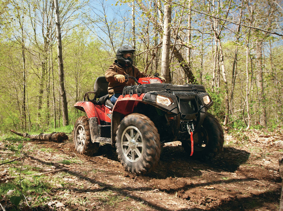 Polaris Sportsman 400 HO 2UP In the Wilderness