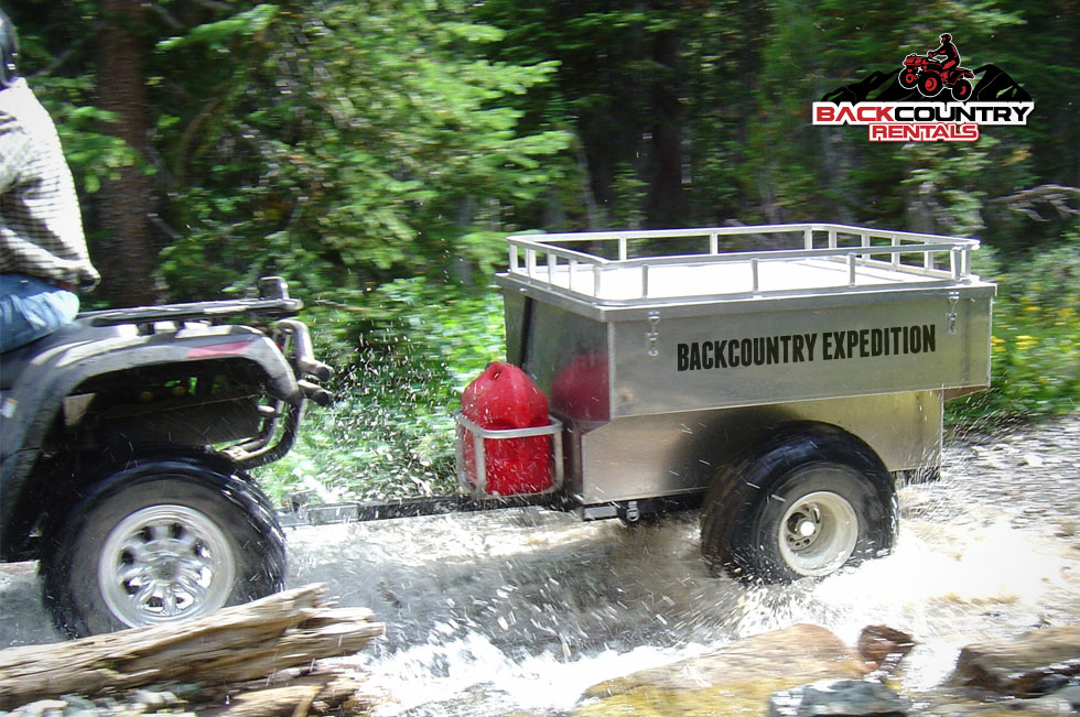 Backcountry Expedition ATV riding