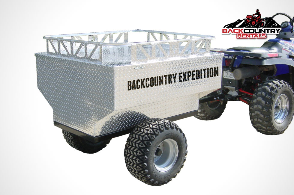 Backcountry Expedition ATV Trailer