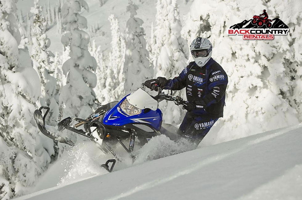 Yamaha Nytro MTX Snowmobile Rent