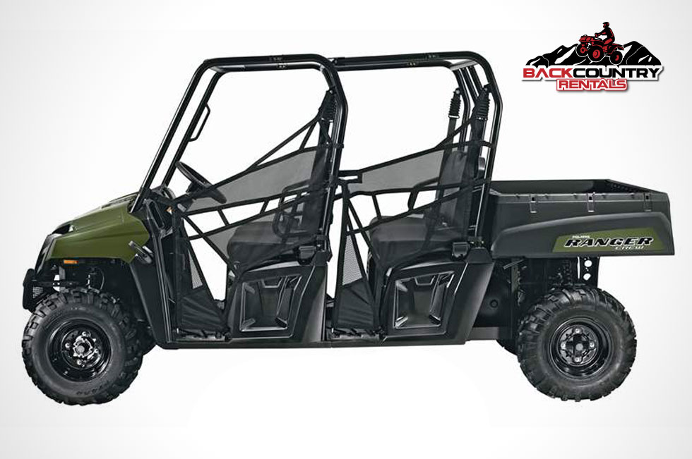 polaris ranger crew backcountry atv rentals. Black Bedroom Furniture Sets. Home Design Ideas