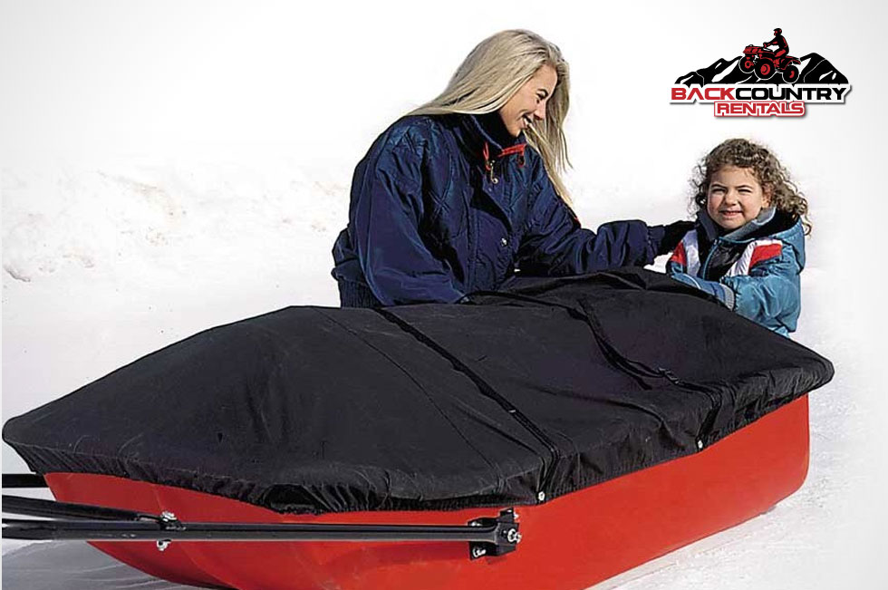 Snowmobile Taboggan